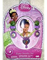 Disney Princess Tiana Jewelry Set