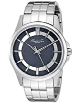 Kenneth Cole Analog Blue Dial Men's Watch - 10022290