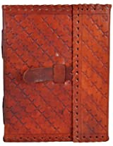 Craft Club Leather with Belt Notebook, 8 x 6 inches, 200 Pages