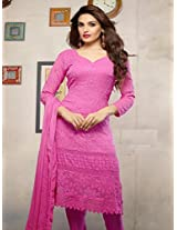 Latest Pink Karachhi Salwar Suit