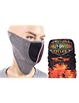 Jstarmart Face Mask & 9 In 1 Bandana Combo