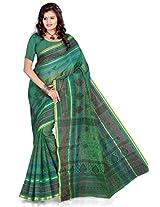 Araham Printed Blend Cotton Saree