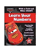 Disney Pixar Cars Learn Your Numbers