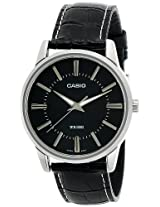 Casio Enticer Analog Black Dial Men's Watch - MTP-1303L-1AVDF (A496)
