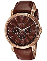 Aspen Analog (BROWN) Dial Men's Watch - AM0075