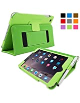 Snugg™ iPad Mini 4 Case - Smart Cover with Flip Stand & Lifetime Guarantee (Green) for Apple iPad Mini 4 (2015)