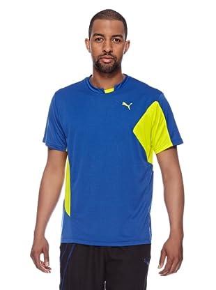Puma Trainings T-Shirt CT Core (monaco blue-sulphur spring)