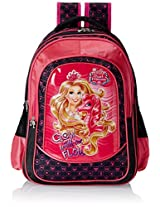 Barbie Pink and Black Children's Backpack (EI-MAT0023)