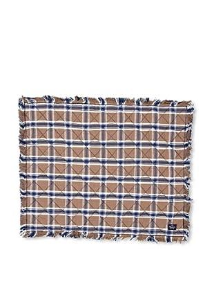 Lexington Company Mantel Individual Cuadros (Beige / Azul)