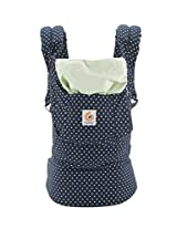 Ergobaby Original 3 Position Baby Carrier Indigo Mint Dots
