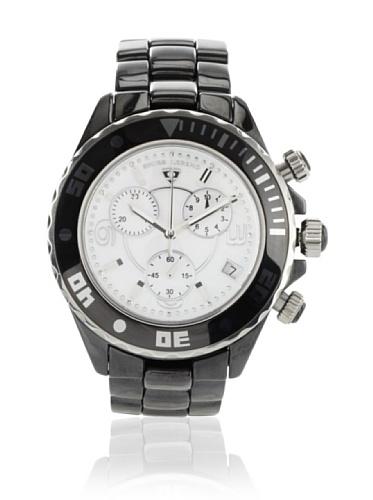 Swiss Legend Men's 30050-BKWSR Karamica Collection Chronograph Black Ceramic Watch