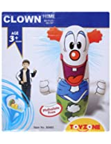 Toyzone - Hit Me In Clown Shape Toy White