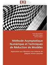 Methode Asymptotique Numerique Et Techniques de Reduction de Modeles (Omn.Univ.Europ.)