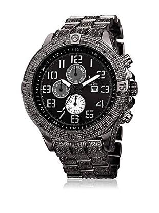 Joshua & Sons Uhr mit schweizer Quarzuhrwerk Man schwarz 50 mm