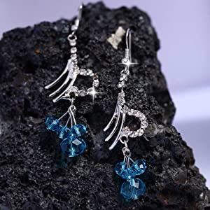 Pretty Women Women Earrings PW ER 55 Blue