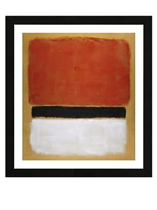 Rothko - Red Black White on Yellow, 1955