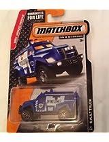 Matchbox SWAT Truck 65/120 Blue
