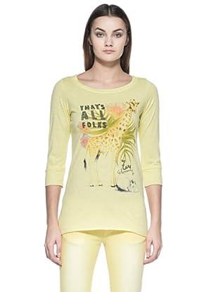 Zu Element Camiseta Greensleeves (Amarillo Limón)