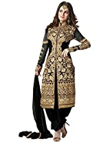 Fabboom New Exclusive Heavy Black Gorgeous Salwar Suits