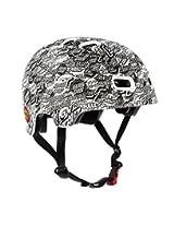 Bullet OGSC All Over White Small Size Skateboard Helmet