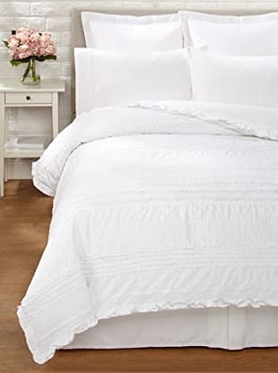 Amity Home Jenna Duvet Cover (White)