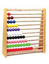 Skillofun Standard Abacus (1-10), Multi Color