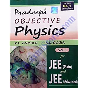 Pradeep Objective Physics Vol. I & II for JEE Main and JEE Advanced