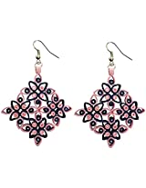 Designer's Collection Paper Quilling Ear Rings Festive Collection for Women-DSERF005