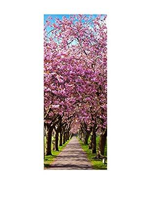 Ambiance Sticker Wandtattoo Door Blossom Plum Tree