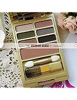 Estee Lauder Gold Palette~6 Eyeshadow + Soft Bronze Goddes~10 47 44 63 35 45