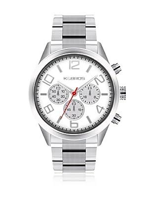 K&BROS Reloj 9482 (Blanco)
