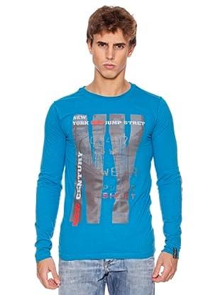 Rexton Camiseta Print (Azul)