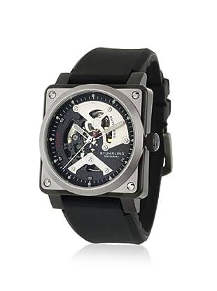 Stuhrling Men's 179A.331613 Raven Black/Silver Watch
