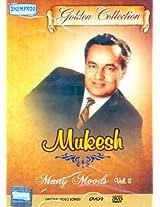 Mukesh Many Moods: Golden Collection(Vol. 2): Original Videos of Hindi Film Songs (DVD) - Mukesh - S