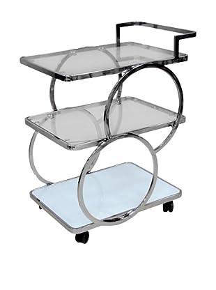 Casabianca Furniture Potenza Bar Cart