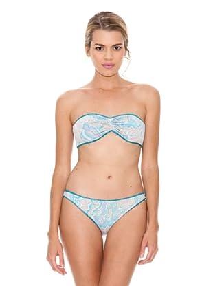 Monoplaza Bikini Bando (Turquesa)