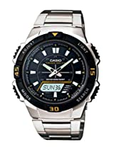 Casio Youth Analog-digital Black Dial Men's Watch - AQ-S800WD-1EVDF (AD170)