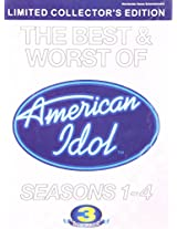 American Idol Season 1-4 - The Best & Worst of (3 DVD Pack)