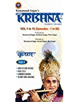 Shri Krishna - Vol. 1 to 15 (Episodes - 1 to 60  - Set 1)