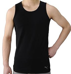 (プーマ)PUMA メンズ ワンポイント ランニングシャツ 3枚組セット