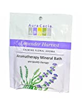Aura Cacia Relaxing Lavender Mineral Bath Packet, 2.5 oz