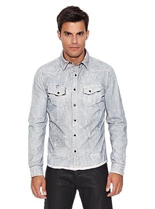 Pepe Jeans London Camisa Hoop (Gris)