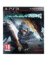 Metal Gear Solid Rising Revengeance (English, French, Italian, German, Spanish, Portuguese, Japanese Language) [Multi-language European Edition] SOLID PlayStation 3 PS3 GAME