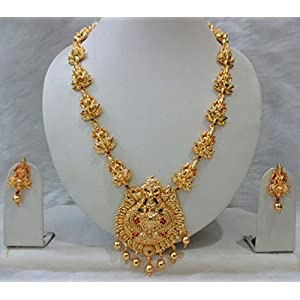 Most Beautiful & Traditional Temple Jewellery Set