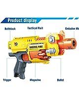 Sunshine Big Foam Blaster Gun toy, Motorized, Safe and Long Range