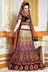 Simmaya Wedding Bridal Embroidered Lehenga Choli