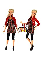 Fashion Evening Party Clothes Wears Dress Outfit For Barbie Doll Gift Xmas Gift