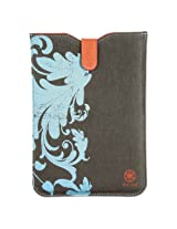 Allsop Gaiam Simple Sleeve for iPad mini, Summer Garden, Blue