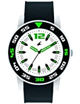 Fastrack OTS Sports Analog White Dial Men's Watch - 9950PP03J