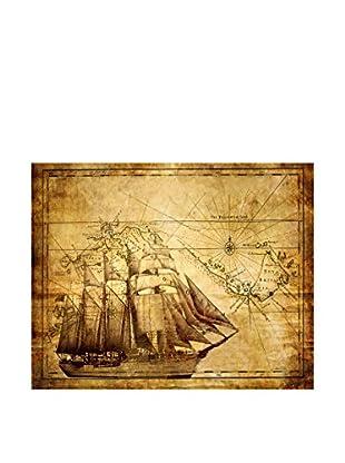 Legendarte Lienzo Mappa Antica